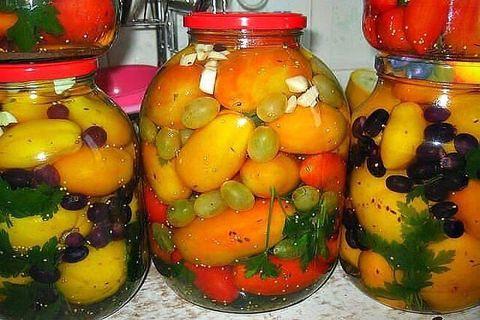рецепты помидоров