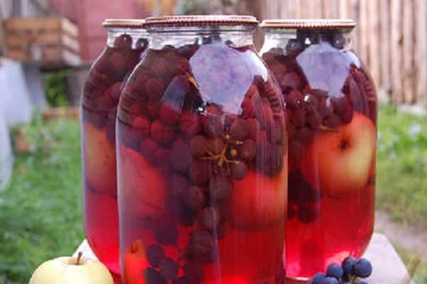 яблочно виноградного