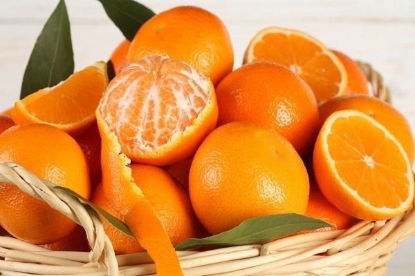 корзина апельсина