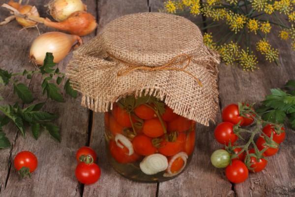 маринование помидор