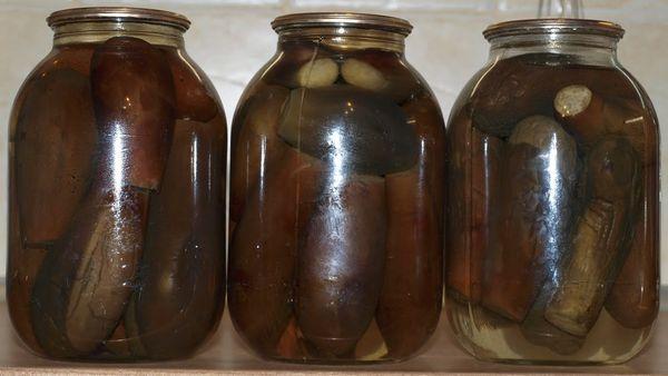 маринованные баклажаны