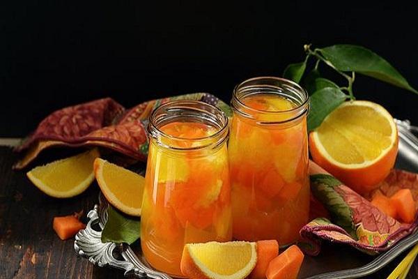 апельсин заготовленный