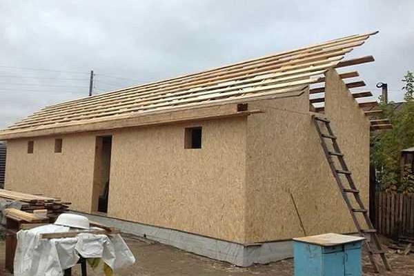 укладка крыши