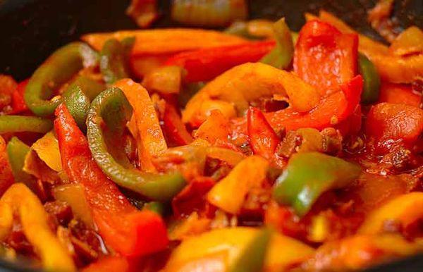 Лечо овощное