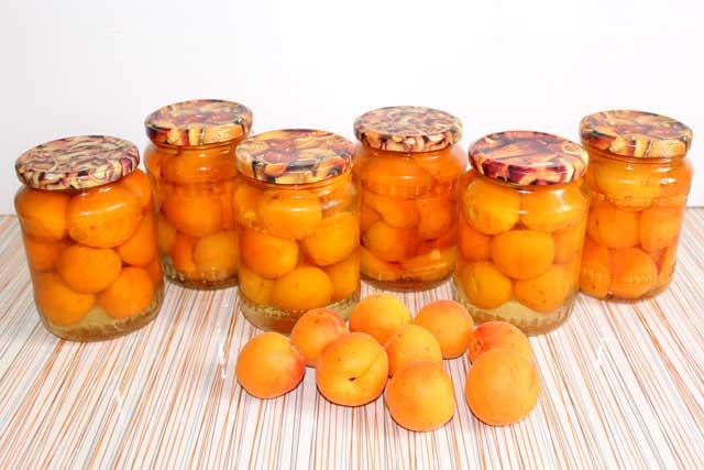 абрикосы в сиропе