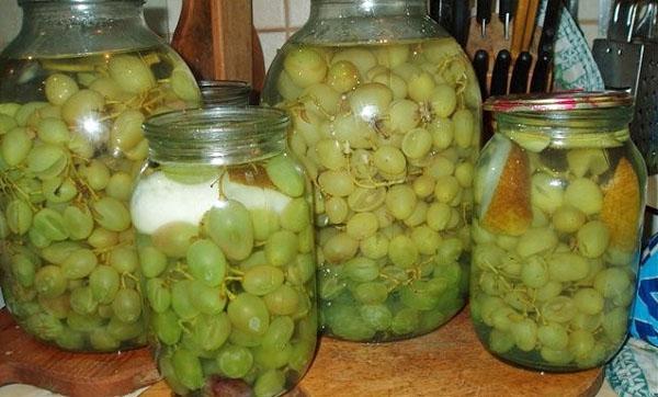 компоты из винограда