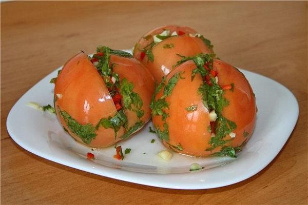 маринованы помидоры