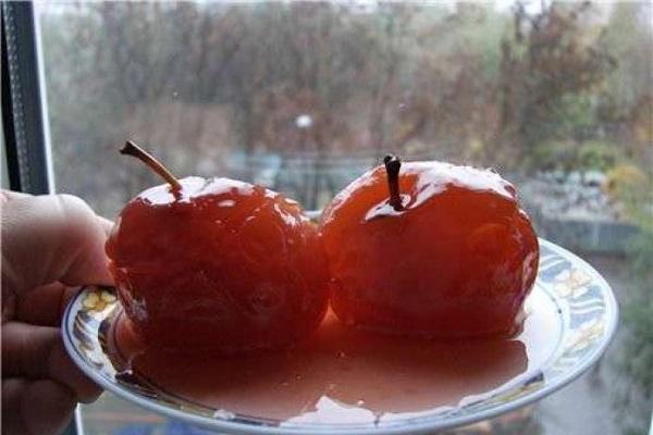 яблоки целиком
