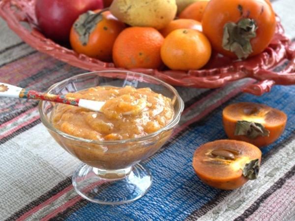 Варенье из хурмы с апельсином и мандарином