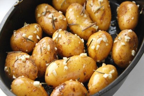 Маринованный картофель на зиму в банках
