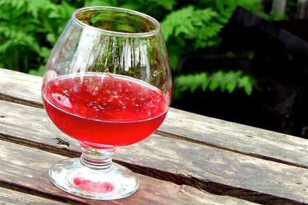 красный напиток